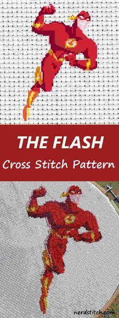 The Flash Cross Stitch Pattern