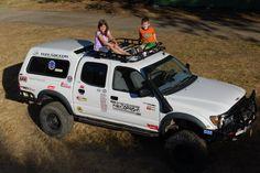 Defender Off Road Toyota Tacoma Roof Rack Installation