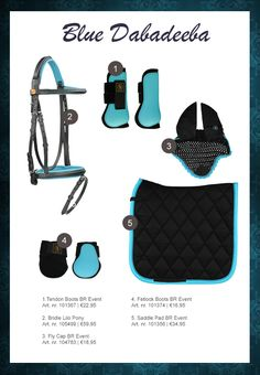 #horse #rider #horsefashion #equistrian #blue #lightblue #black #tendonboots…