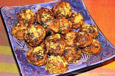 Bolitas de berenjena Albondigas, Ethnic Recipes, Food, Appetizers, Cooking, Vegans, Eggplant Meatballs, Entrees, Essen