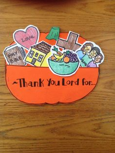 Thanksgiving Bible Craft