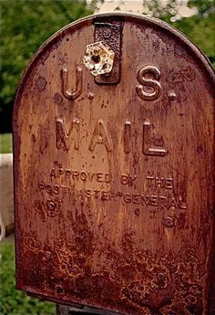 Rusted Mailbox