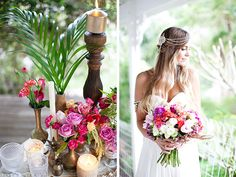 Tropical wedding ideas   Photography: Life in Bloom Photography