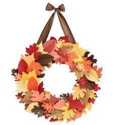 Fall leaf wreath kit | Covet Living