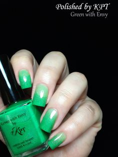 Polished By KPT: Green With Envy