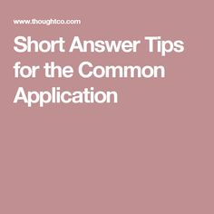 How to write      Common App essay     Some students have a