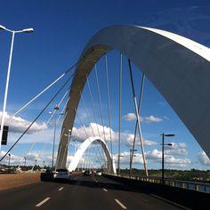 JK Bridge - Brasilia, Brazil.