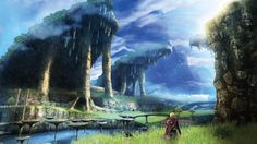 Colony 9 from Xenoblade Chronicles | 36 Beautiful Landscapes That Prove That Video Games Are Art