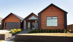 Modern Country Home by Design Builders House Roof, Facade House, Cladding Design, Farm House Colors, Cabins And Cottages, House Extensions, Exterior Design, Building A House, House Plans