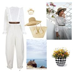 """Untitled #294"" by babis117 ❤ liked on Polyvore featuring Kenzo, Zimmermann, STELLA McCARTNEY, Helen Kaminski, Giselle and Grandin Road"