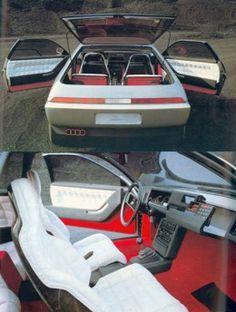 1981 Pininfarina Audi Quartz Concept Interior