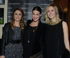 Manuela Cappellini, Francesca Fioretti, Elisa Airaghi, party, Alexander Smith London, febbraio 2013, evento, No-Words