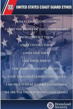 9f2dafbeafe This is what every Coast Guardsmen should stand for and believe in