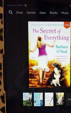 Hiking, firemen, and … recipes.  It's all in this book!  4 Stars on GoodReads for THE SECRET OF EVERYTHING by Barbara O'Neal