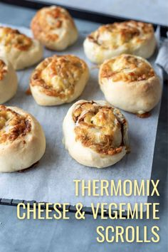 These Thermomix Cheese and Vegemite Scrolls are a delicious and filling after school snack for hungry teenagers. The Vegemite can be replaced with Marmite if you like. Thermomix Bread, Thermomix Recipes Healthy, School Lunches, Bag Lunches, Work Lunches, Healthy Lunches, Veggie Party Food, Vegemite Scrolls, Clean Eating Kids