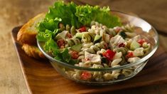 All you need is a few minutes and, suddenly, you have dinner salad!
