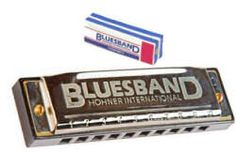 Bluesband Harmonica, the standard for so many generations of players. #harmonica #hohner #bluesband