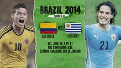 Colombia vs Uruguay Live Stream Info FIFA World Cup Preview 2014. http://www.watchcriclive.com/news/?p=768