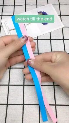 Cool Paper Crafts, Paper Crafts Origami, Diy Crafts Hacks, Diy Crafts For Gifts, Diy Home Crafts, Diy Paper, Fun Crafts, Paper Art, Diys