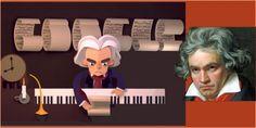 Google celebra 245 aniversario nacimiento Ludwig van Bethoven colocando doodle animado