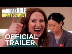 Kimmy and the gang are back! Season 4 of Unbreakable Ki. But Is It Art, Unbreakable Kimmy Schmidt, New Tv Series, New Trailers, Official Trailer, Home Wedding, Whats New, Season 4, Netflix