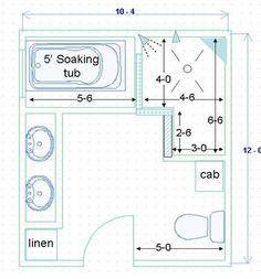 4-5'x7-8' dimensions range; Dimensions for doorless walk-in shower ...