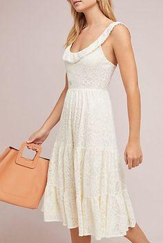 Belle Tiered Midi Dress
