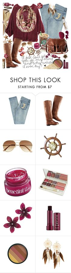 """""""Personality Disorders Part 2"""" by tnf1997 ❤ liked on Polyvore featuring Rachel, Juicy Couture, H&M, WALL, Benefit, Cameleon, Dolce&Gabbana, Miss Selfridge, Fresh and ULTA"""