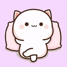 Cute Cartoon Images, Cute Cartoon Wallpapers, Cute Images, Cute Anime Cat, Cute Cat Gif, Cat Wallpaper, Cute Anime Wallpaper, Panda Day, Cat Doodle