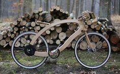 O designer alemão Matthias Broda apresentou um novo conceito de bicicleta elétrica, juntamente com o time da Aceteam, #GeorgeTupak