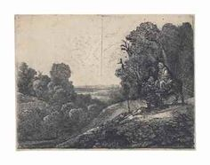 van Rijn , The Flight into Egypt: altered from Seghers Rembrandt Etchings, Pieter Bruegel, Engraving Printing, Isle Of Wight, Old Master, Antique Prints, Hercules, Metropolitan Museum, Egypt
