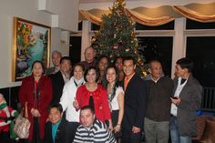 With my Nu Skin family during Christmas party 2011