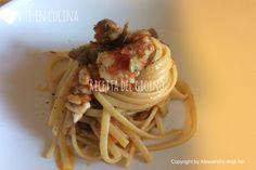 Con Te in Cucina: LINGUINE CON TRIGLIE DI SCOGLIO E CARCIOFI