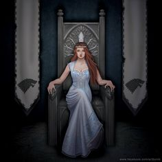 Sansa Stark....The Queen in the North!
