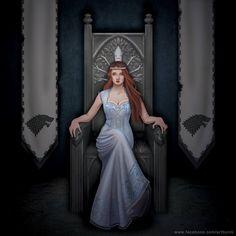 Sansa Stark....The Queen in the North!
