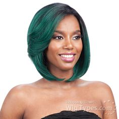 Model Model Synthetic Hair Premium Seven Star Lace Front Wig - WINNIE [11101]