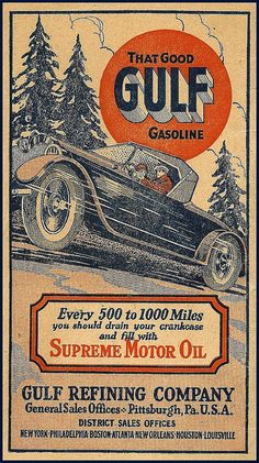 Vintage Gulf ad