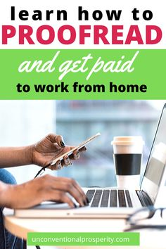 When you are thinking about working from home and making money online, what do you think about?  It can be hard to pinpoint the best stay-at-home-mom jobs – but you definitely need to give proofreading jobs a good look!  If you enjoy reading and have an eagle eye for spotting spelling or grammar mistakes, this could be the perfect job for you.