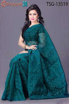 Mosline jamdani Saree