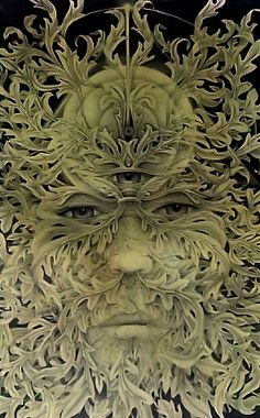 Found in many cultures from many ages around the world, the Green Man is often related to natural vegetative deities. It is primarily interpreted as a symbol of rebirth, representing the cycle of growth each spring. Some speculate that the mythology of the Green Man developed independently in the traditions of separate ancient cultures and evolved into the wide variety of examples found throughout history...