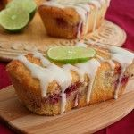Crnberryy Lime Mini Loaves          Low Carb and Gluten-Free