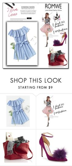 """""""Contest"""" by danijela68 ❤ liked on Polyvore featuring WALL and Jimmy Choo"""