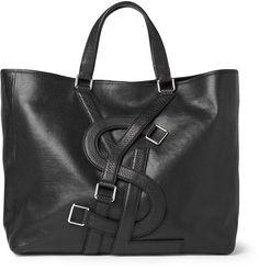 YSL Logo Tote Bag (nice brand integration)