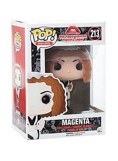 Magenta is given a fun, and funky, stylized look as an adorable collectible vinyl figure!