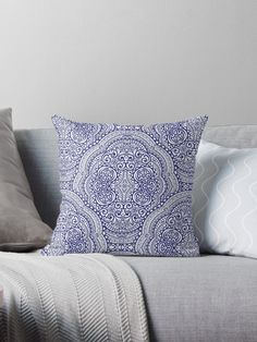 Lovely boho  Throw Pillows