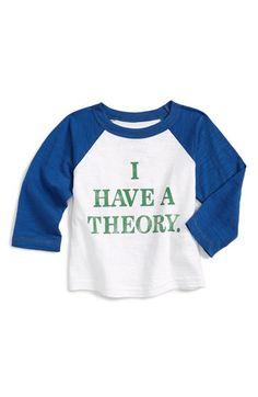 Peek 'Scientific Method' Raglan Sleeve T-Shirt (Baby) available at #Nordstrom