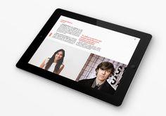 12 Especímenes Digital Interactive Magazine by Carlos de Toro, via Behance