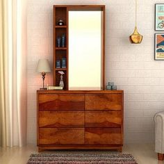 cf57aeffa Dressing Tables   Buy Wooden Dressing Table With Mirror Online