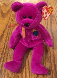 0313f64f9eb Ty Beanie Baby Millennium - MWMT (Bear 1999)