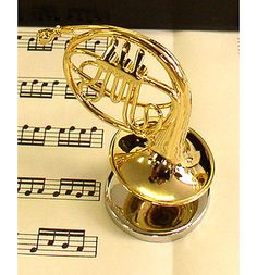 French Horn in Miniature  #french horn